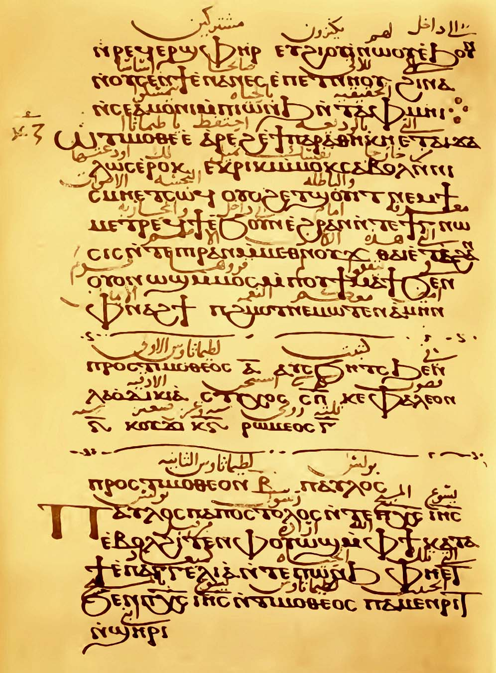 written paper coptic manuscripts biblical data written on paper in about folios described in horner s bohairic version